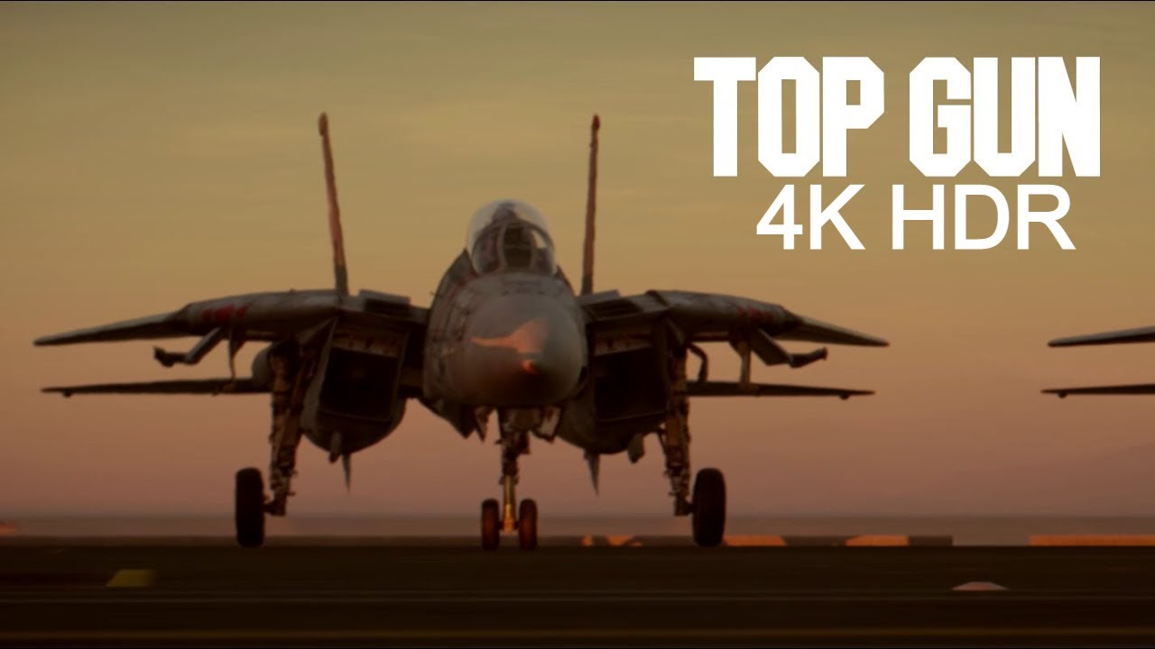Download Top Gun (1986) - Opening Scene | Danger Zone Song (4K HDR10 - Dolby Vision/Atmos)
