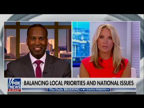 John James joins Fox News' Dana Perino on The Daily Briefing