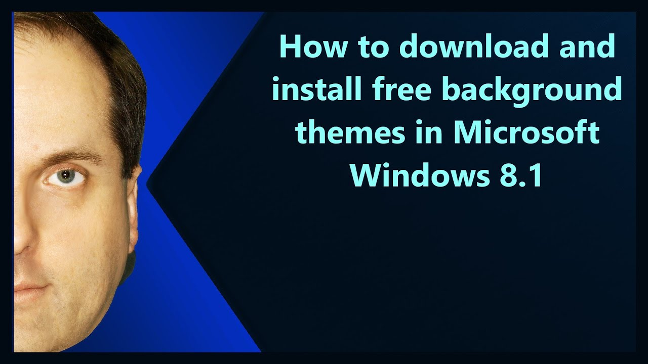 how to download and install free background themes in microsoft