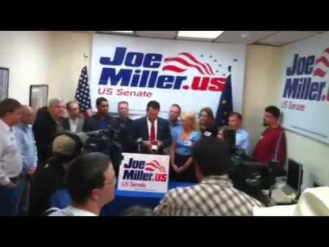 Joe Miller Press Conference