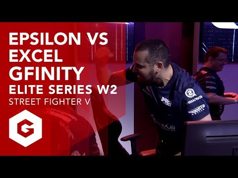 SFV: EPSILON VS EXCEL FULL MATCH (G2W2 - GFINITY ELITE SERIES SEASON 1)