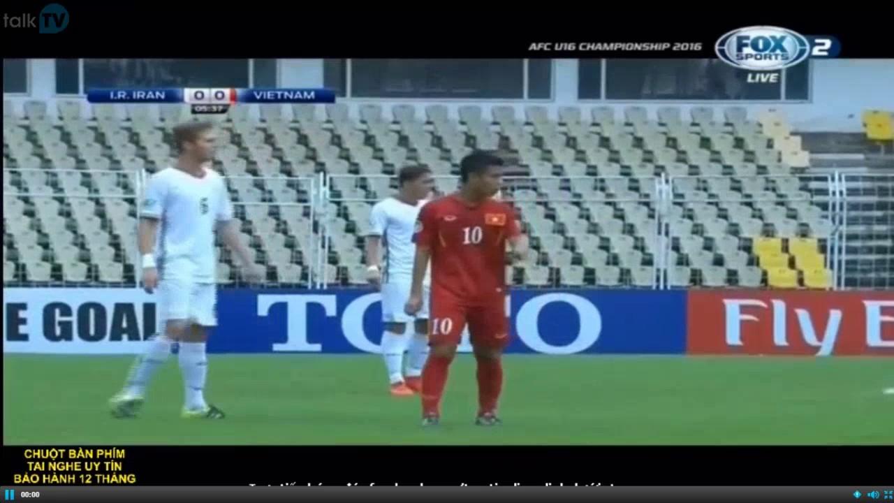 U16 VIỆT NAM vs U16 IRAN [Full Match] Bán kết VCK U16 Châu Á - YouTube