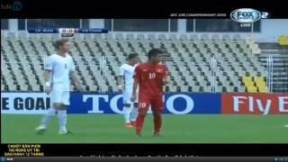 U16 VIỆT NAM vs U16 IRAN [Full Match] Bán kết VCK U16 Châu Á