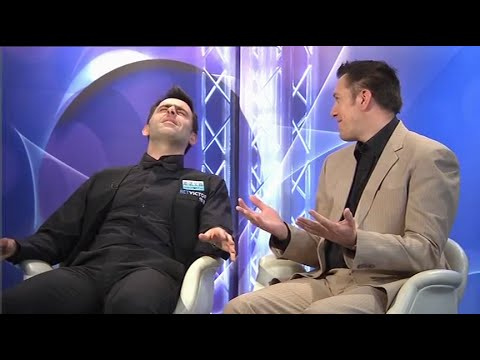 Ronnie O'Sullivan - High During Interview - 2016 Welsh Open