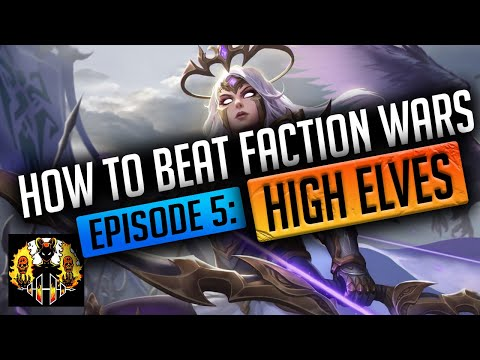RAID: Shadow Legends | How to beat Faction Wars Episode 5: High Elves! Maybe the easiest Faction?!