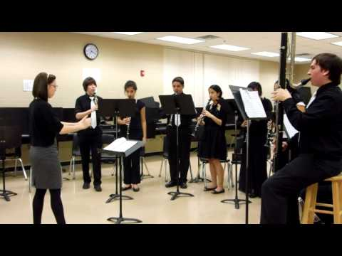 """Italian in Algiers"" Overture - Gioachino Rossini.  DeLand High School Clarinet Choir"