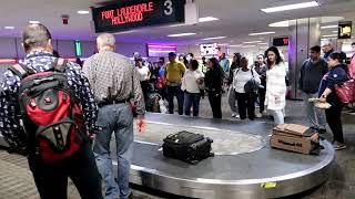 Baggage Claim at Ft. Lauderdale Hollywood International Airport Terminal 4