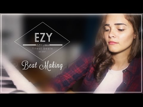 Female Producer EZY Lima - Beat Making of Do That Thang (Hip Hop Instrumental)l