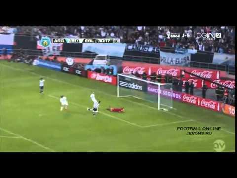 Argentina vs Slovenia 2-0