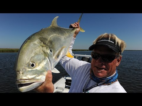 Bull Shark Barge Fishing for Jack Crevalle and Cobia in Stuart Florida