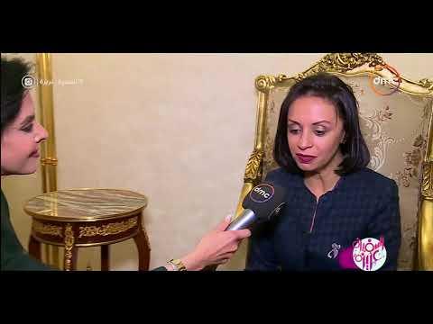 """السفيرة عزيزة - لقاء مع المناضلة """" جميلة بوحيرد """" واستقبالها في مطار القاهرة"""