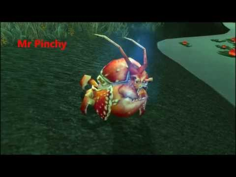 How To Catch Magical Crawdad (Mr Pinchy) - WoW Pet In Terokkar Forest : World Of Warcraft