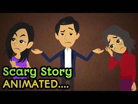 Black Hair - Horror Story Animated in Hindi | Scary baba