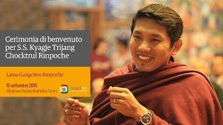 S.S. Kyabje Trijang Chocktrul Rinpoche visit (Italian) – September 2016