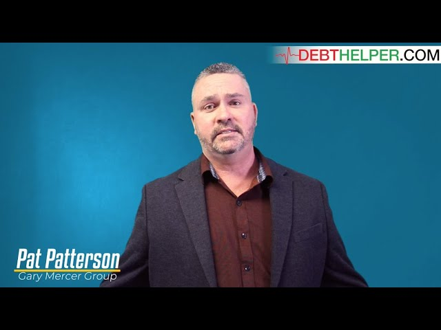 Realtor Pat Patterson speaks on the benefits of working with Debthelper.com