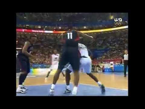 USA BASKETBALL Vs Angola 2008 Beijing Olympics Full Match Highlights