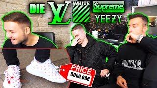 Die LV OffWhite Supreme Yeezys | Fashion Reaktion mit Justin