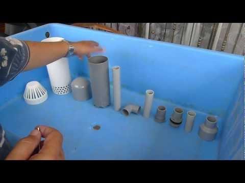 Basic Aquaponics - Affnan Siphon - How It's Made