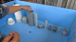 Affnan's Aquaponics - Affnan Siphon - How It's Made