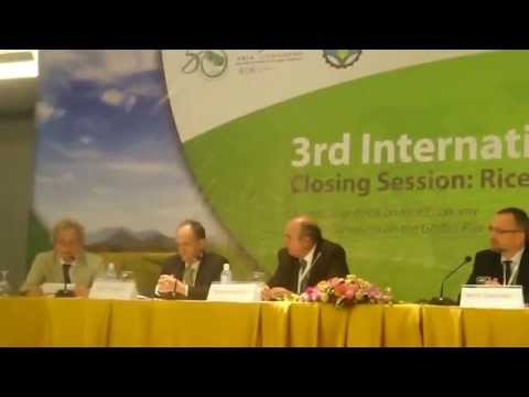 4. Global Rice Science Partnership (GRiSP) discussed at International Rice Congress