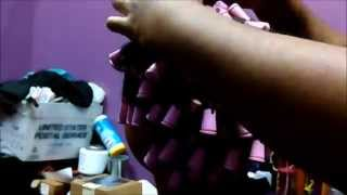 Best Perm rod set on natural hair/ LottaBody Style Me Texturizing setting lotion Review