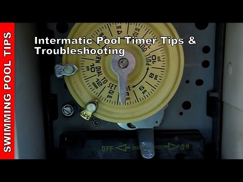 Intermatic Pool Timer, tips & troubleshooting