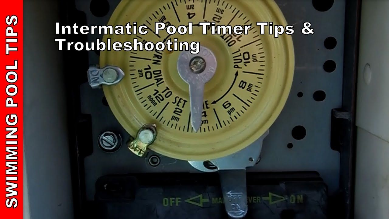 Pool Timer Wiring Diagram Intermatic Typical Ignition Switch Tips And Troubleshooting Youtube