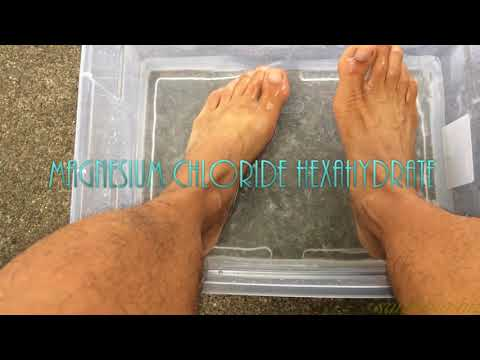 Benefits Soaking Feet In Magnesium Chloride Hexahydrate