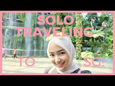 Travel Vlog #2: Solo Traveling to Singapore! || Namira Yasqi || Indonesia