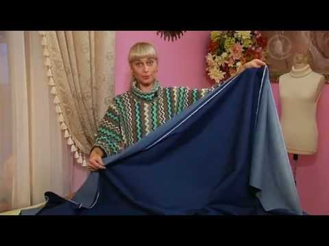 Как сшить юбка из теплой ткани