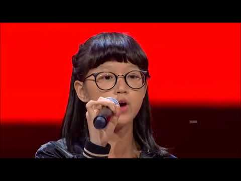 Kim - Gajah (Tulus Cover) The Voice Kids Indonesia Season 2 GTV 2017