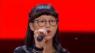 Video Kim - Gajah (Tulus Cover) The Voice Kids Indonesia Season 2 GTV 2017 download MP3, 3GP, MP4, WEBM, AVI, FLV Juli 2018