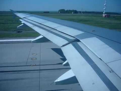 A319 Siberian Airlines S7 Take off Kazan International Airport.