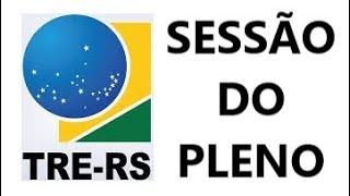 TRE-RS Sessão do Pleno do dia 31-03-2020 Reunião Zoom