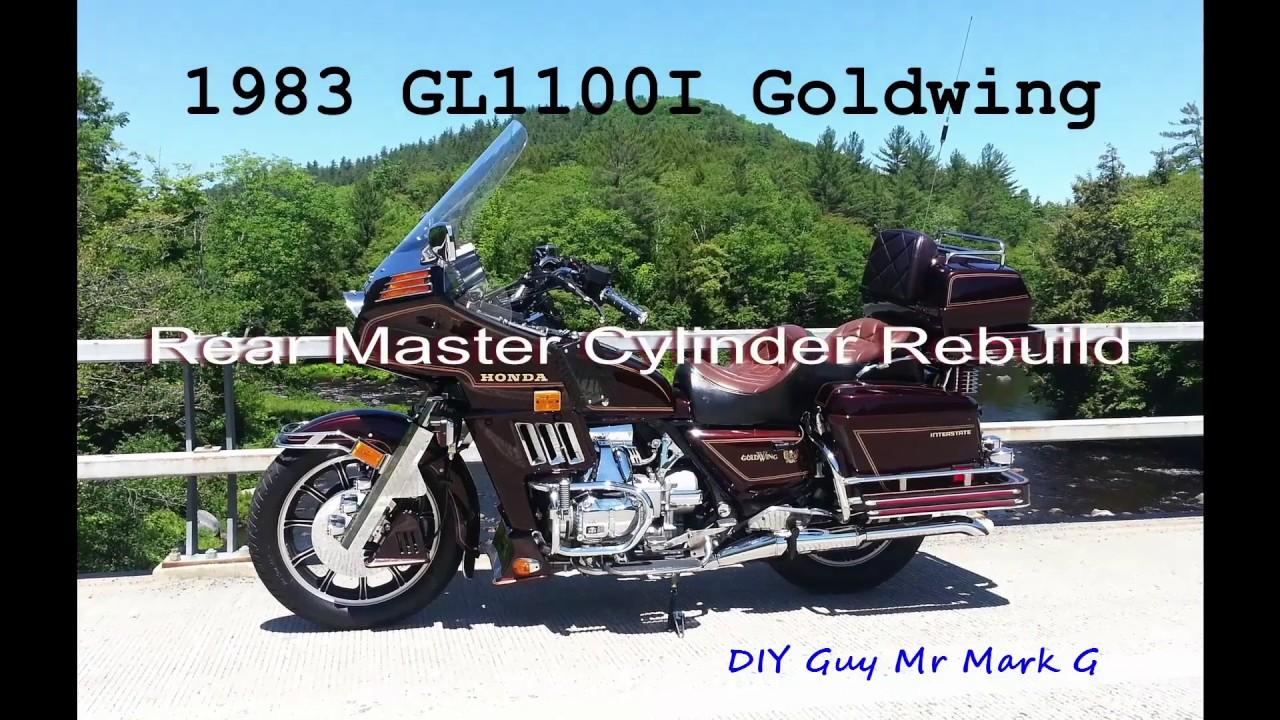 Mark 4 Honda >> 1983 Honda Goldwing GL1100I Rear Master Cylinder Rebuild ...