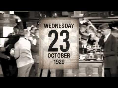 A grande crise de 1929 - YouTube
