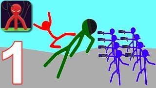 STICKMAN PROJECT - Walkthrough Gameplay Part 1 - INTRO (Android Games)