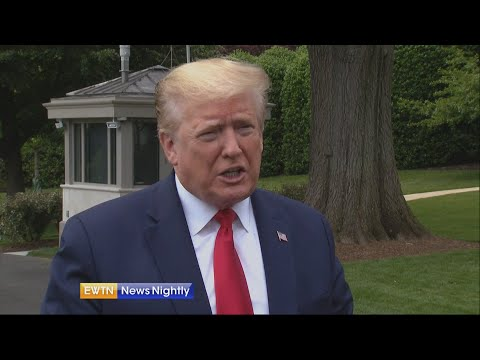 President Trump wants churches in America open; unemployment numbers soar | EWTN News Nightly