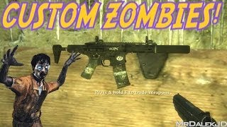 """GHOSTS WEAPONS IN ZOMBIES!"" - Custom Zombies ""TMG CHRISTMAS"" (CoD WaW Custom Zombies)"