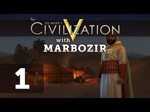 Civilization 5 Brave New World Deity Morocco Let's Play - Part 1