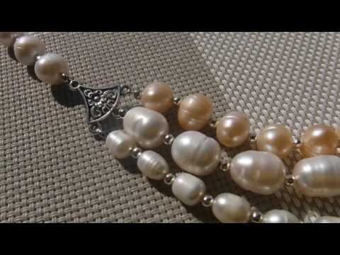 Авторские украшения из жемчуга и лабрадора. Natural Stones
