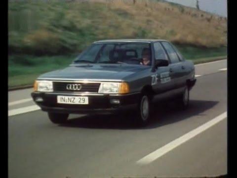 Autotest 1982 - Audi 100