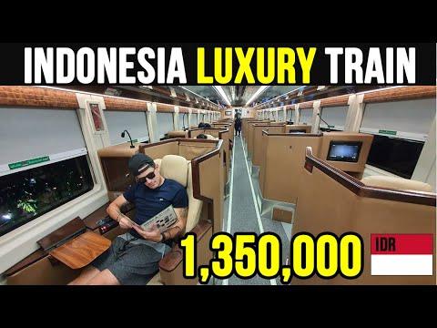 BULE reviews ARGO BROMO ANGGREK LUXURY Indonesian train