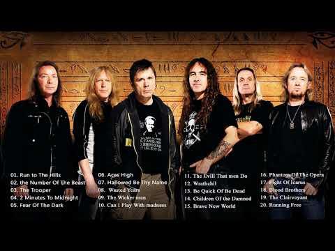 Iron Maiden Greatest Hits  2018   The Best Of Iron Maiden