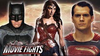 Batman v Superman v Wonder Woman: Who Wins? - MOVIE FIGHTS!