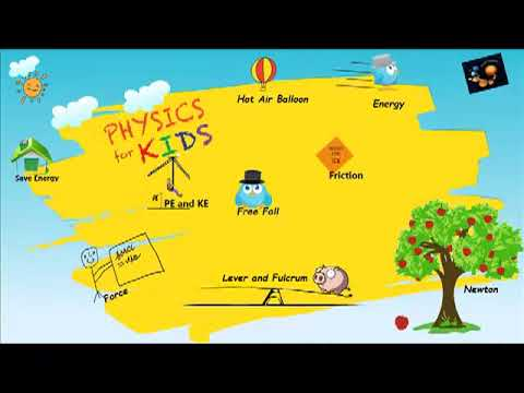 Physics for Kids- A  Windows 8 App