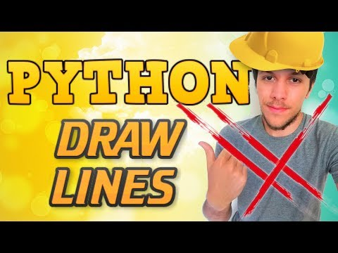 Python tutorial 2019 #13 DRAW LINES OPENGL thumbnail