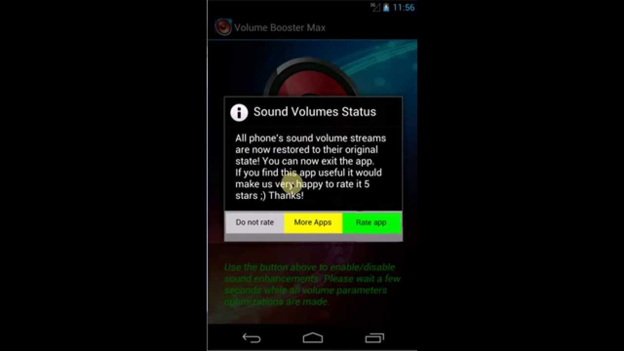 Phone Phone Volume Booster Android volume booster max utility app for youtube for