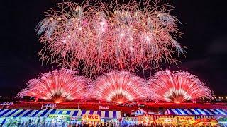 [ 4K ] 長野えびす講煙火大会 2018 ハイライト - Nagano Ebisuko Fireworks Festival 2018 Highlights -