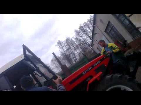 Zetor 7245 + horal MV3-042 při sběru senaиз YouTube · Длительность: 1 мин24 с